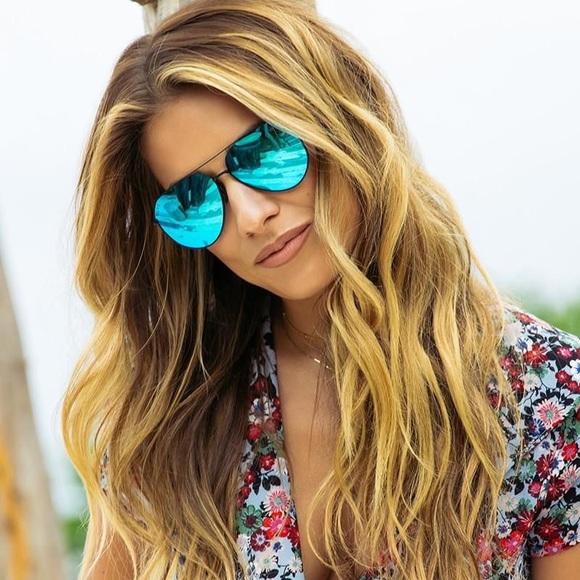 0845548a551 Diff Eyewear Accessories - Aviator SunGlasses by Jessie James Decker